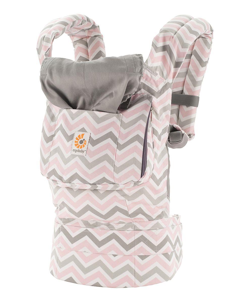 Pink Gray Chevron Original Carrier Grey Chevron Ergobaby Carrier Soft Baby Carrier