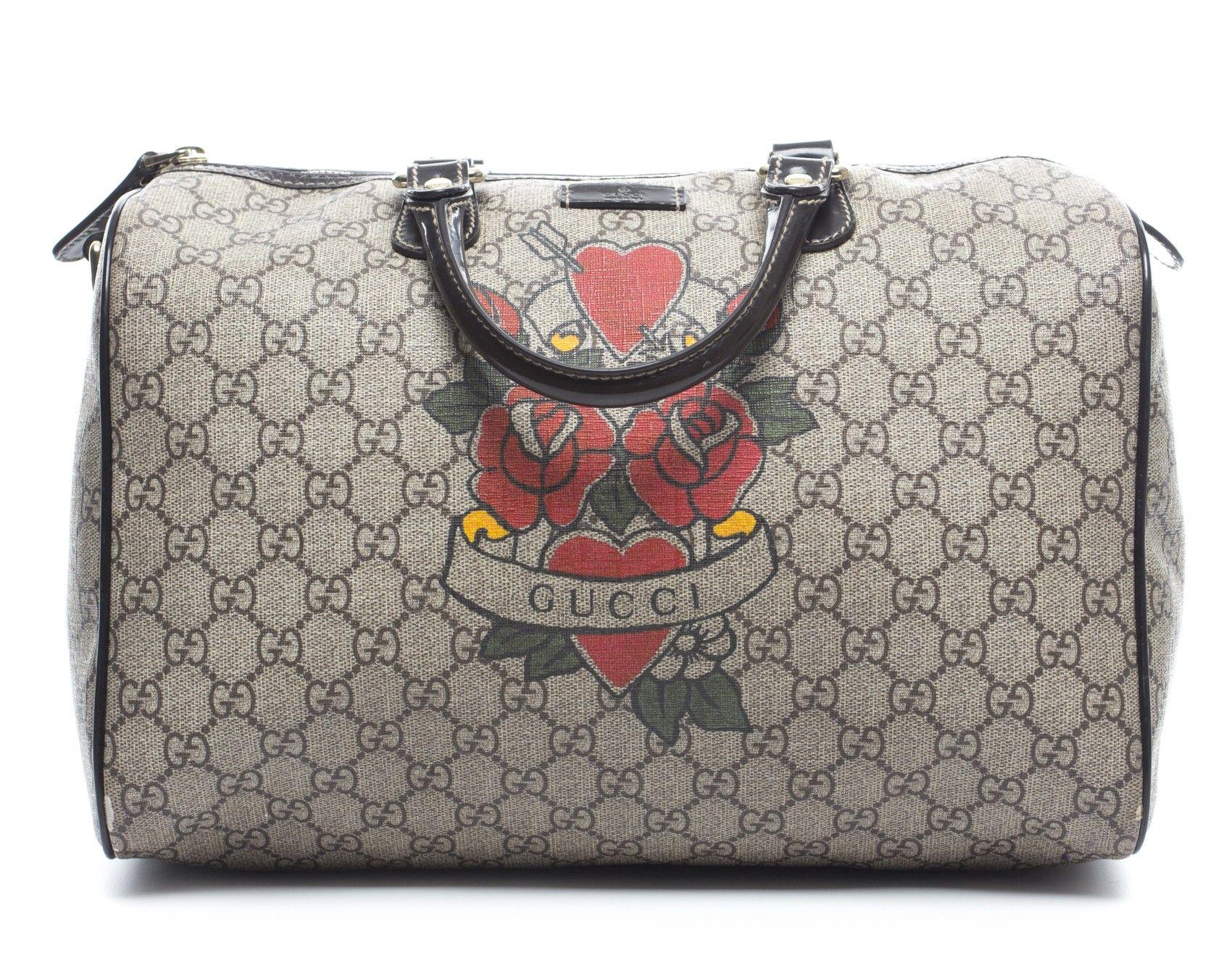 71a4ea51806 Gucci - Hearts And Roses Medium Boston Joy Bag