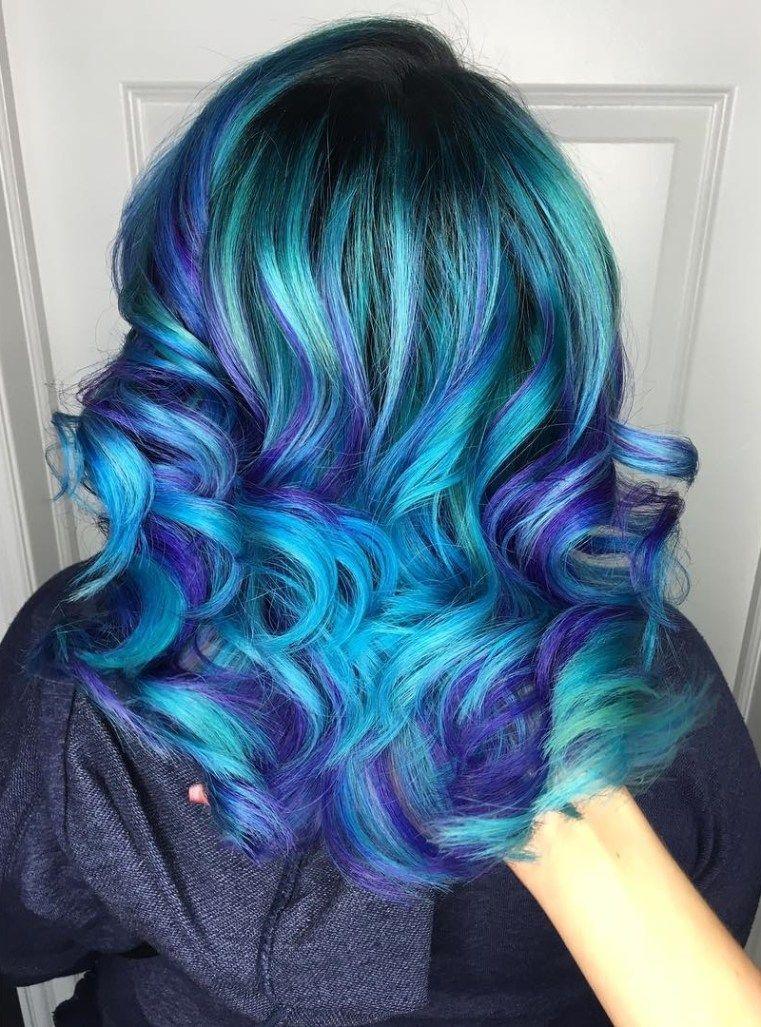 30 Icy Light Blue Hair Color Ideas For Girls Pinterest Teal Hair