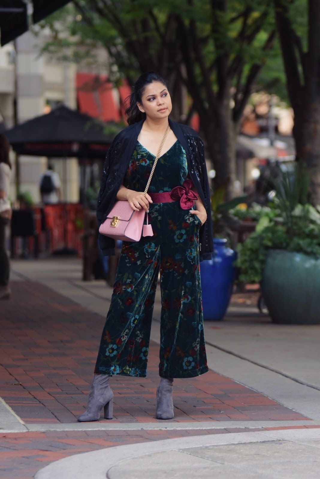 4897fcc9ebd STYLE SWAP TUESDAYS - FEW REASONS WHY YOU NEED A VELVET JUMPSUIT ...