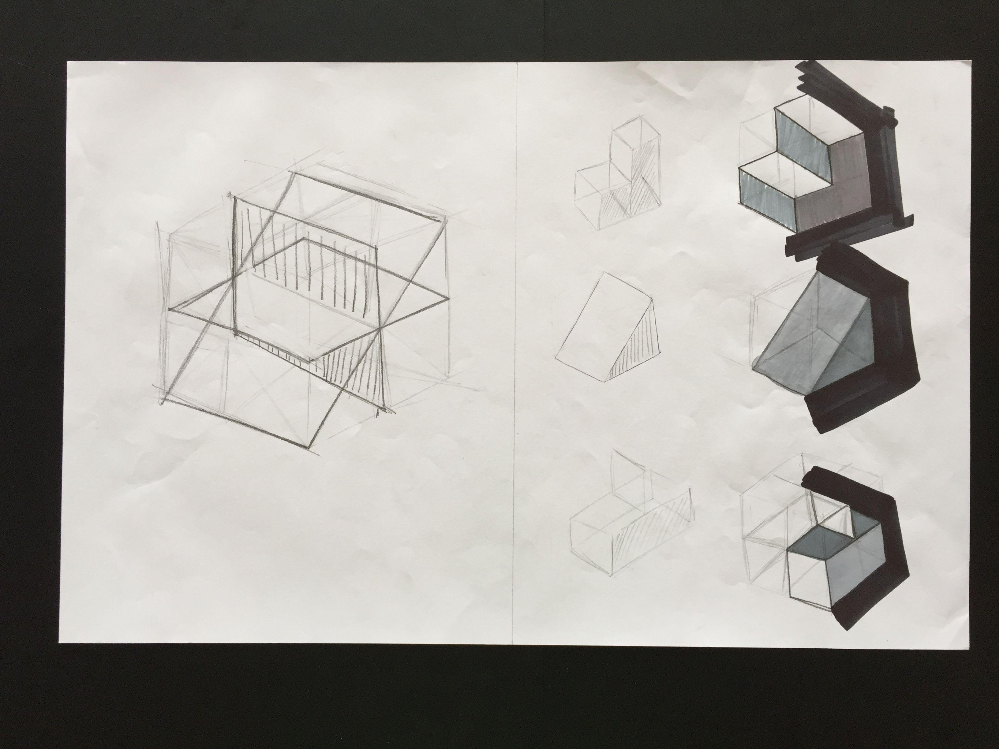 Semana 5. Dibujo del cubo y subdivisión | Dibujo I | Pinterest