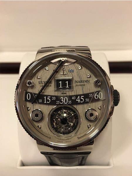 be44e15b2a12 Ulysse Nardin Marine Grand Deck Tourbillon Limited Edition Mens Watch