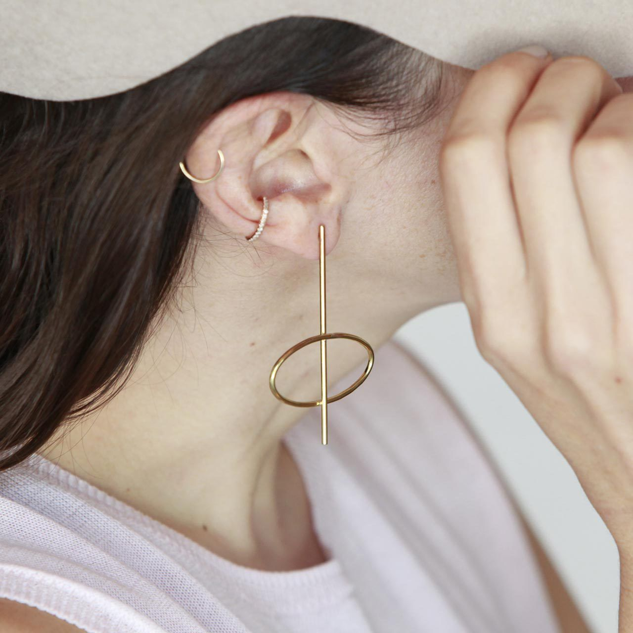 Gabriela Artigas Online Store - Lunar Earrings (Pair), 323-857-0200 (http://www.gabrielaartigas.com/lunar-earrings-pair/)