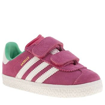 Girls Adidas Leather White Pink White Pink Baby Superstar Crib Material Technology