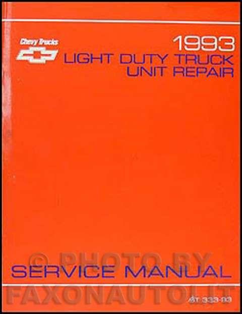 16+ 1993 Chevy Truck Wiring Diagram - Truck Diagram ...