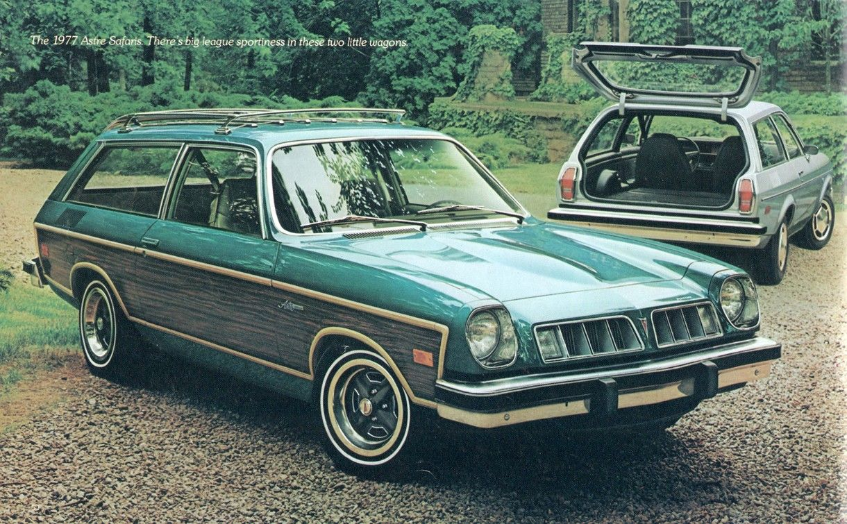 1977 Pontiac Astre Safari I Shouldn T Like This Car Yet I Do