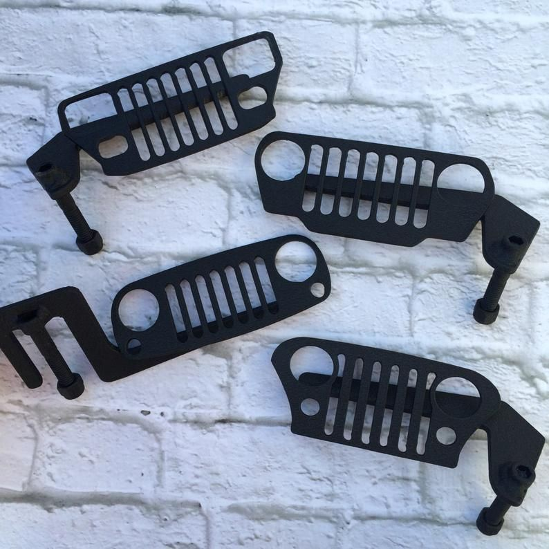 Grill Jeep Foot Pegs For Wrangler Gladiator Custom Jeep Jeep