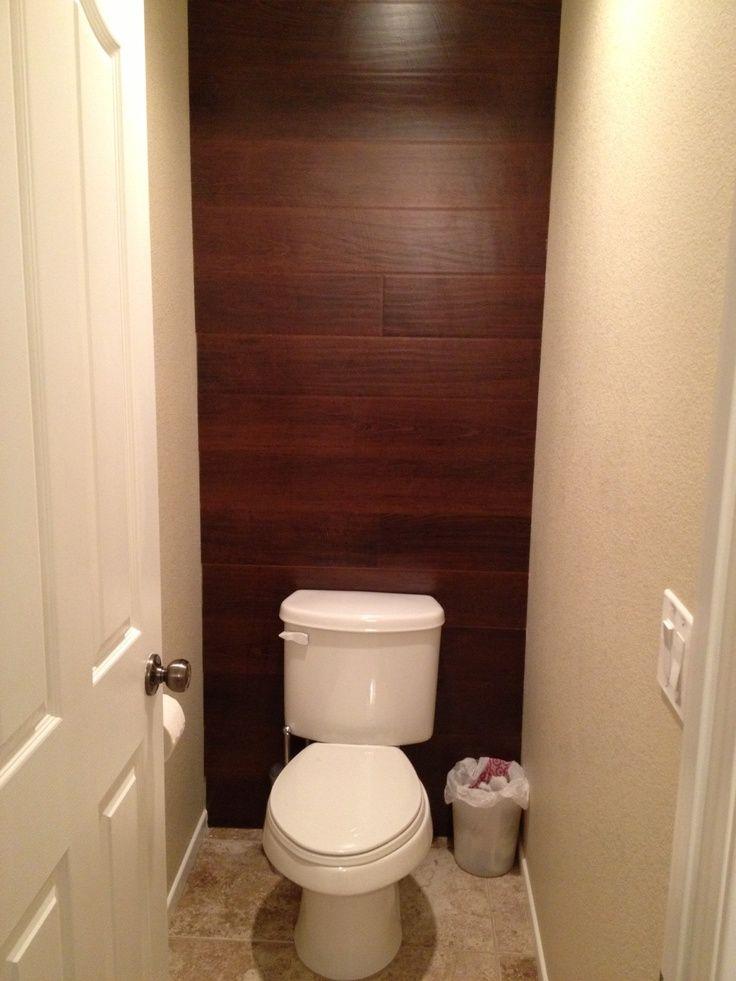 leftover hardwood flooring for wainscoting
