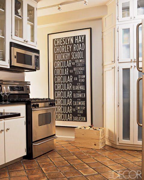 white kitchen, terracotta floor | Floors - Tile | Pinterest ...