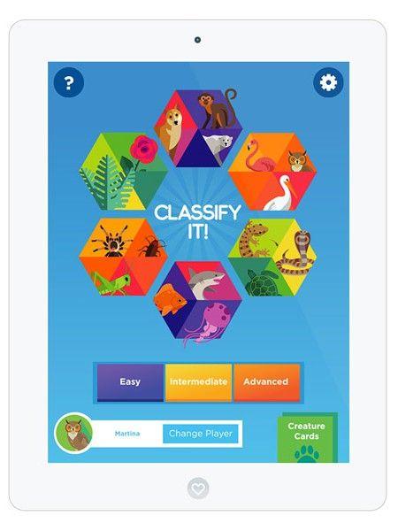 classify it eine kostenlose lern und spiele app zum thema biologie sch ne lern apps f r. Black Bedroom Furniture Sets. Home Design Ideas