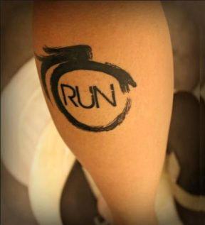 tatuaje corredor