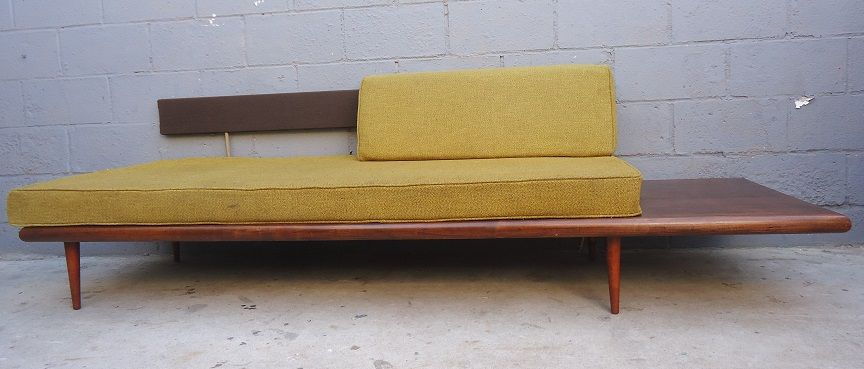 Daybed danish  Mid Century Modern Daybed Sofa | Tweed fabric, Bed sofa and Danish ...