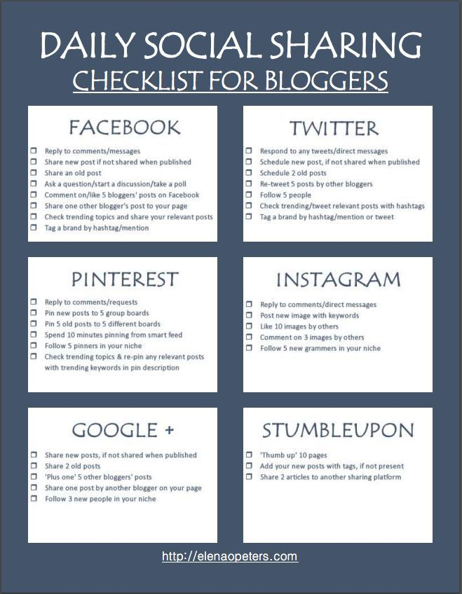 Ultimate Social Media Sharing Checklist To Boost Blog Traffic - checklists boosting efficiency reducing mistakes