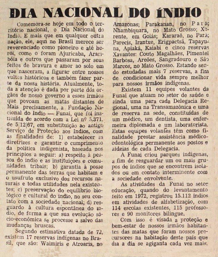 Diário da Tarde - 19/04/1974