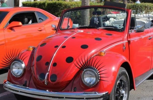Lady Bug Convertible Beetle! #NJcarcoupon #Paintjobs #Cars ...