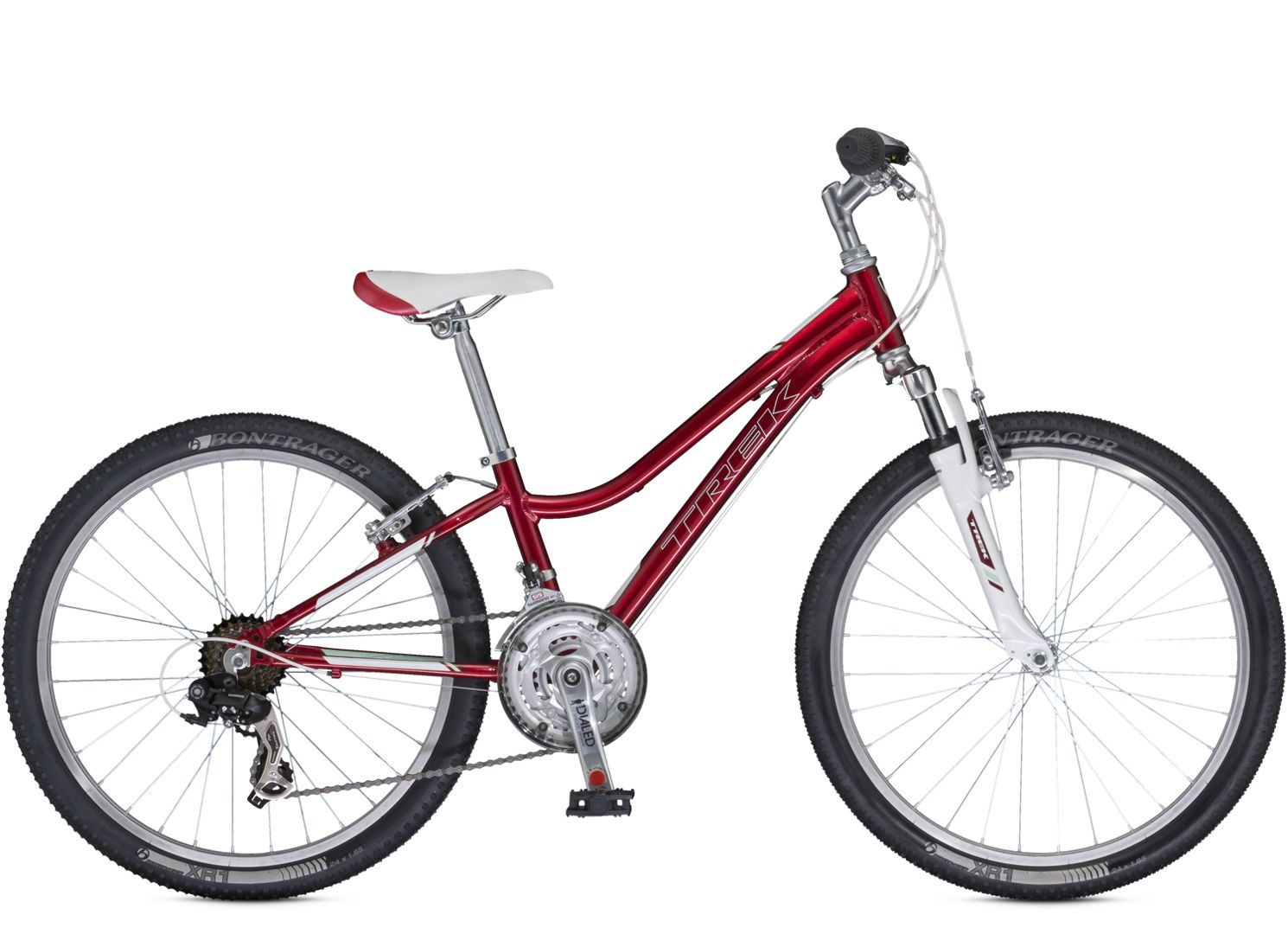 Sport Kids Mt 220 Girls Trek Kids Mountain Bikes Are The Real Deal With Light Frames Knobby Tires Quality Part Kids Bike Trek Bicycle Kids Mountain Bikes