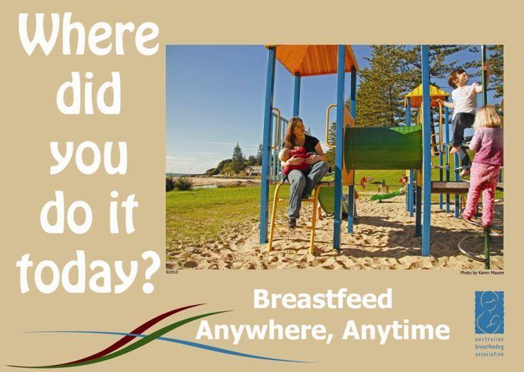 Breastfeeding Happens Everywhere! IBCLC breastfeeding