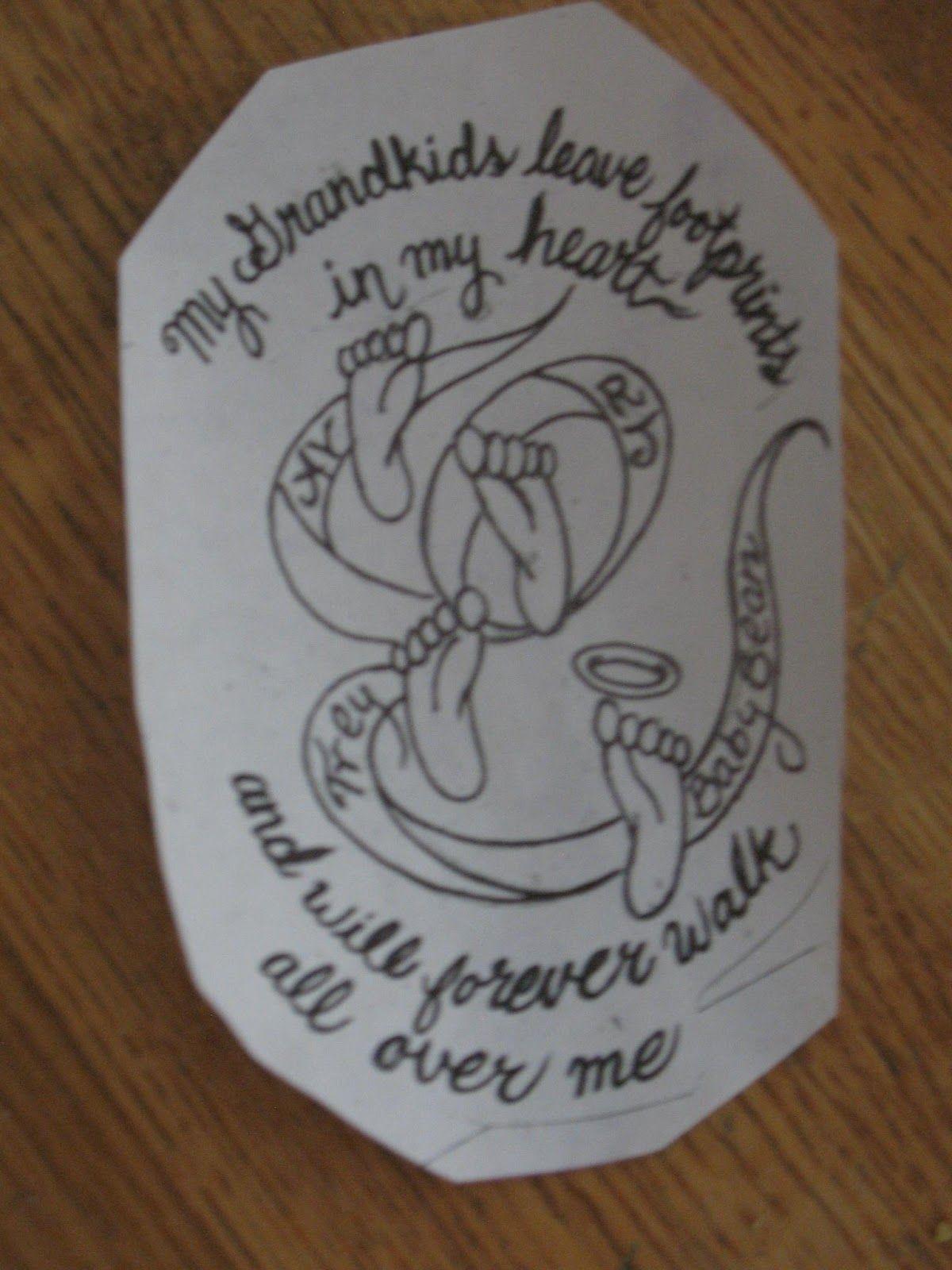 grandchildren name tattoos grandchildren tattoos