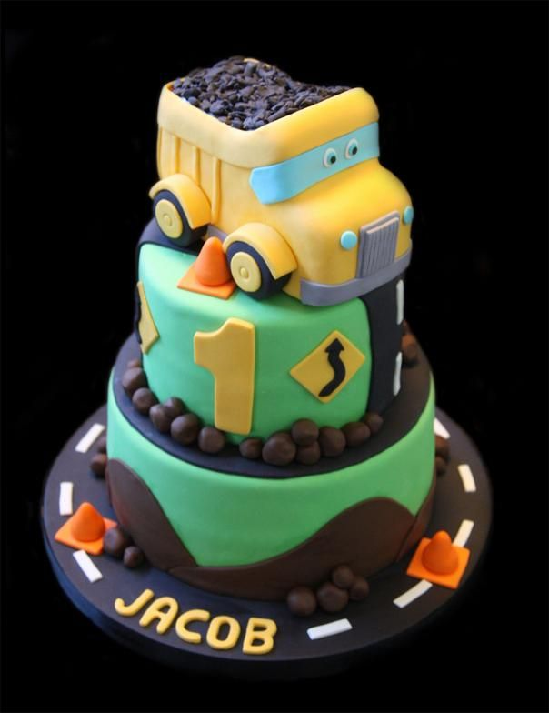 Dump Truck Cakes For Kids Cake ideas Pinterest Dump ...