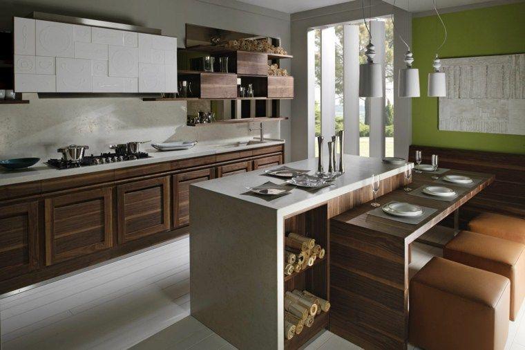 Dekoration und Design von sehr attraktiven Küchen