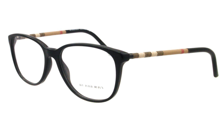 amazoncom burberry eyeglasses be 2112 3001 black clothing