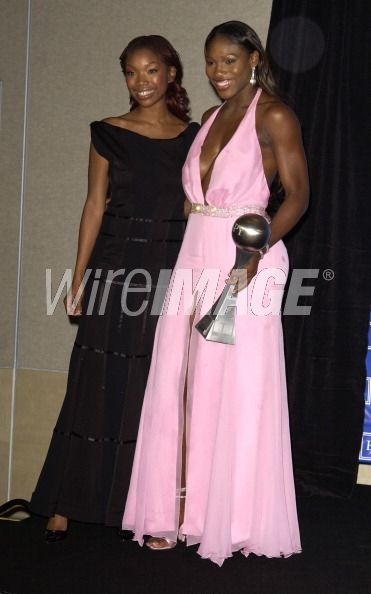 Brandy and Serena Williams winner...