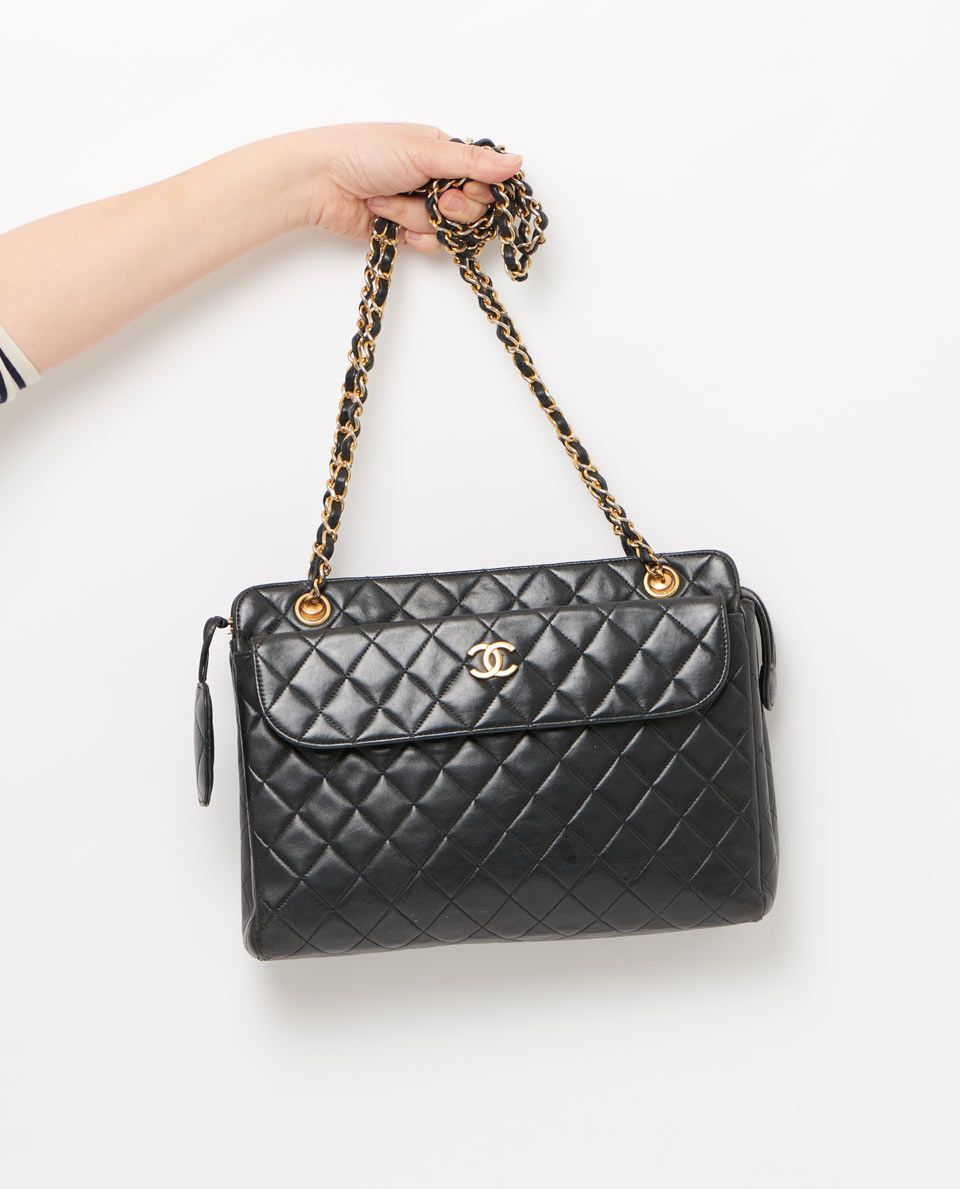vintage chanel quilted satchel style shoulder bag gallery | *BAGS ... : vintage chanel quilted shoulder bag - Adamdwight.com