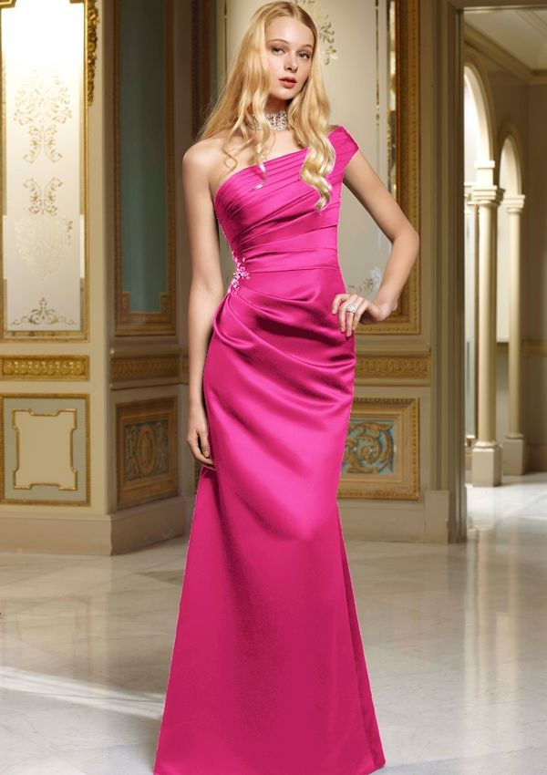 Love this color dress & the style BRIDESMAIDS By Mori Lee Style 657 ...