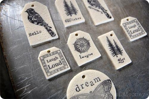 salt dough stamps