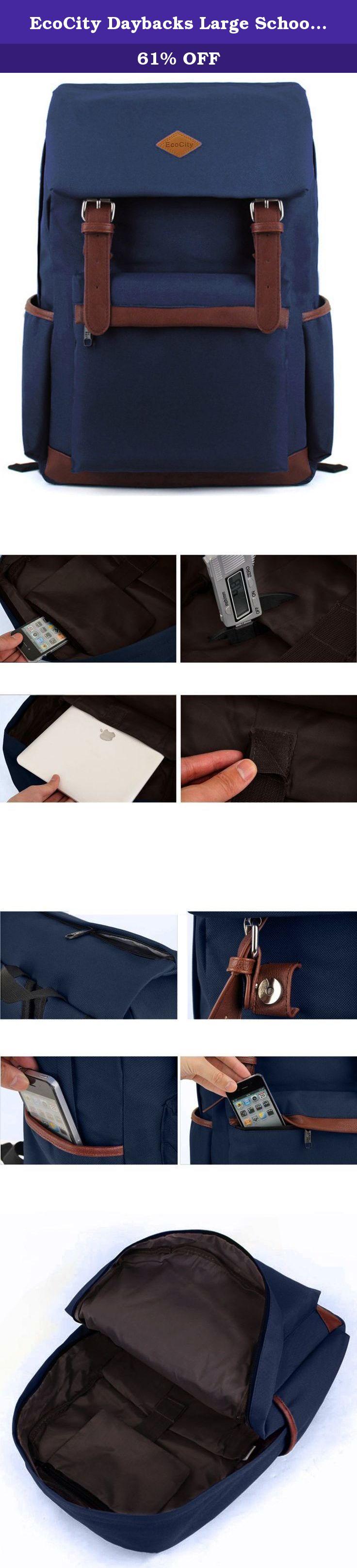 ecocity daybacks large school book bags for men women bp0022n1n