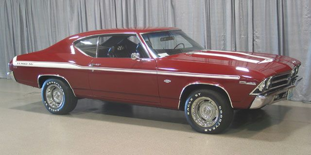 Yenko knew how to cut a mean muscle car... [1969 Chevelle SS]