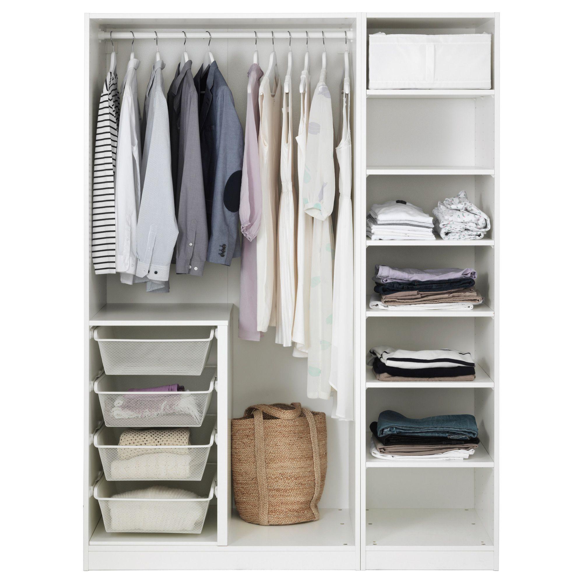 IKEA PAX Wardrobe white, Bergsbo white Дизайн інтер