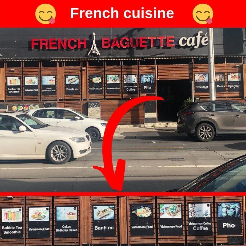 French Cuisine Vietnamese coffee, Grow business, Marketing