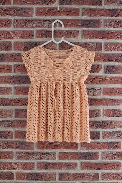 Apricot dress from arteve by DaWanda.com