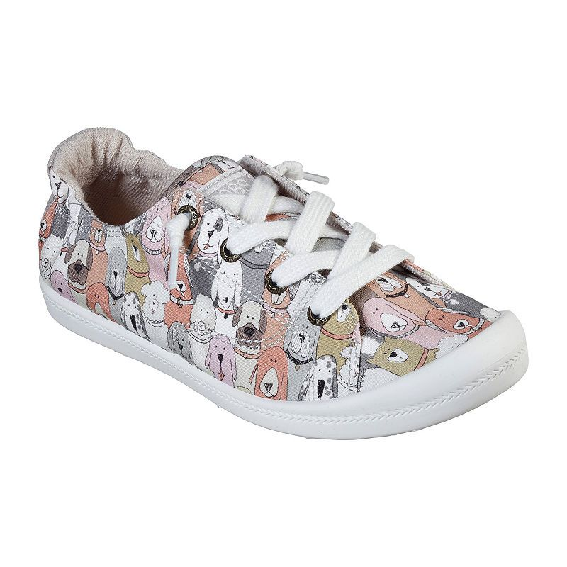 Skechers Bobs Womens Dog House Party Slip On Shoe Closed Toe
