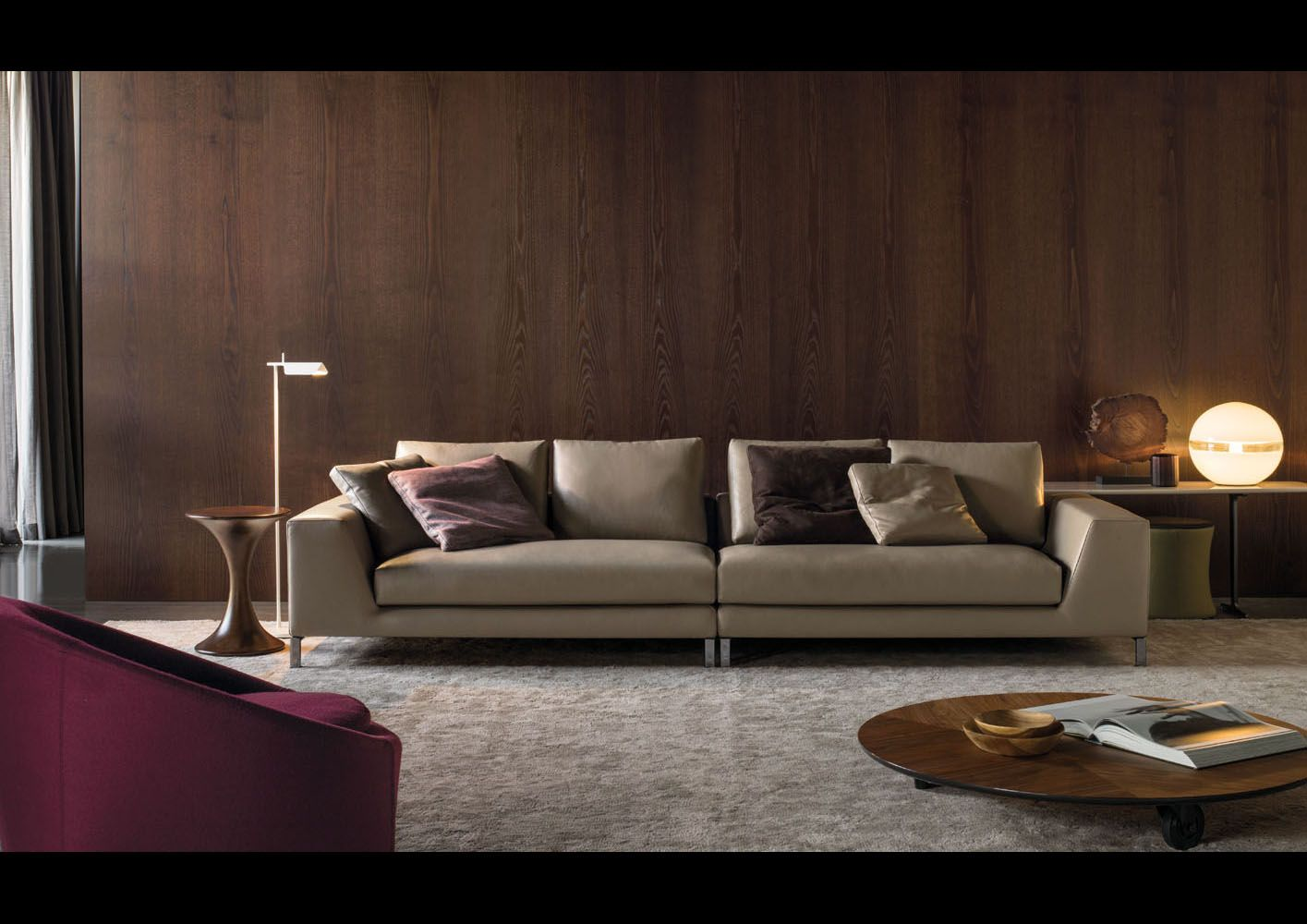 minotti hamilton islands sofa designed by rodolfo dordoni. Black Bedroom Furniture Sets. Home Design Ideas