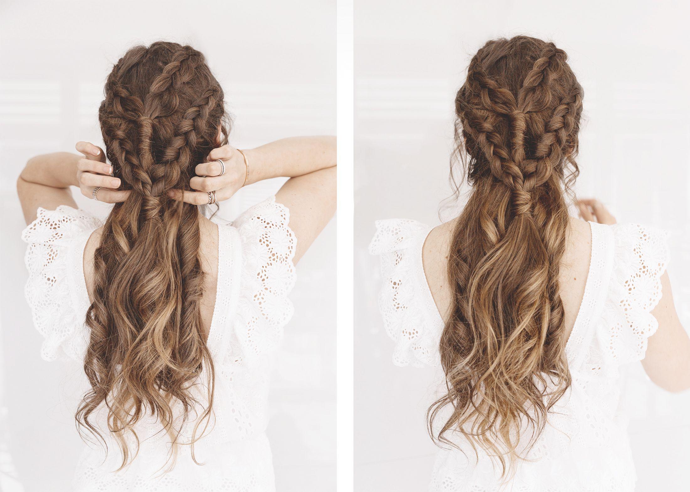 Khaleesi Hairstyle Tutorial | Braid hairstyles, Hair style and Makeup