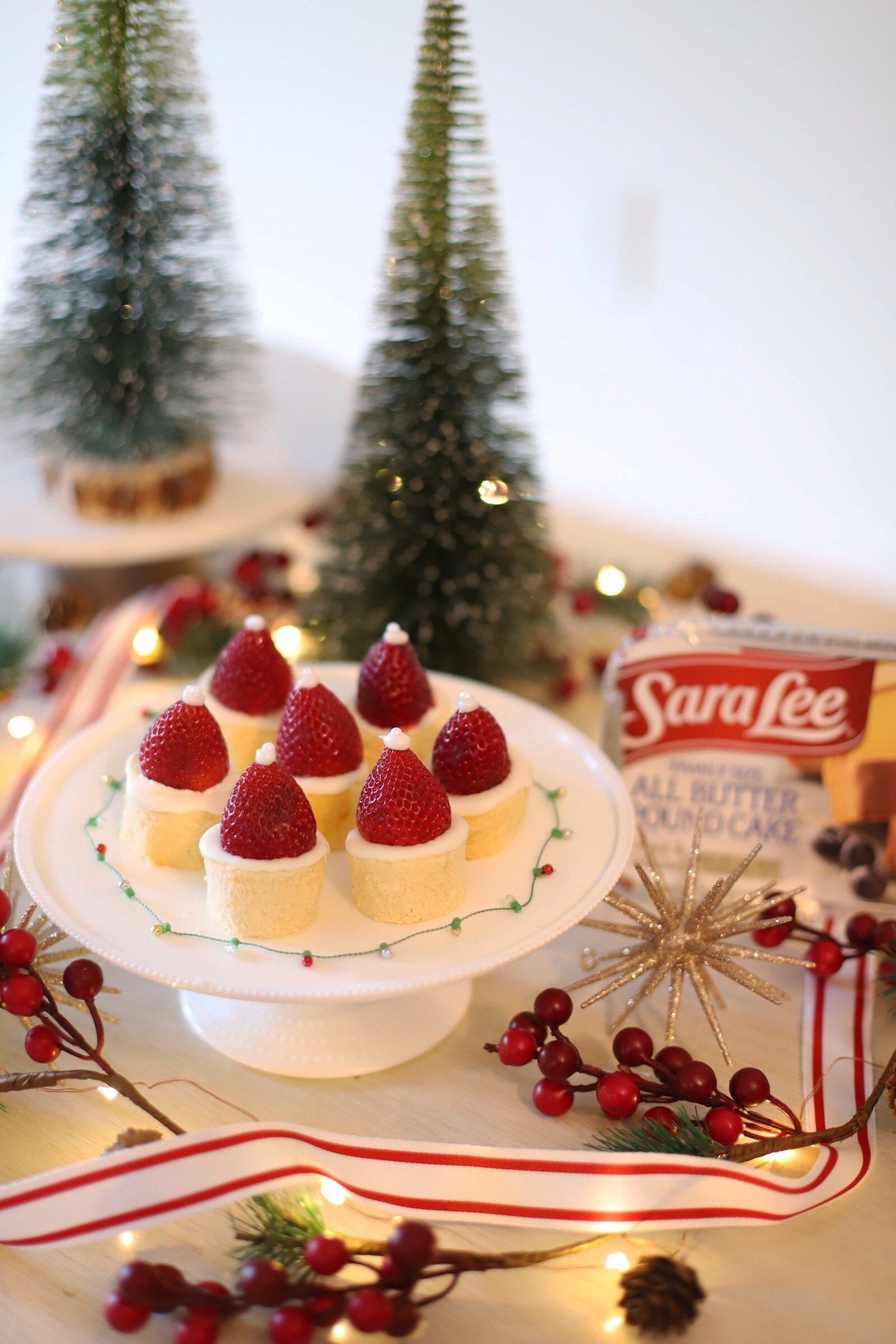 Holiday Dessert Ideas With Sara Lee Desserts All Butter Pound Cake