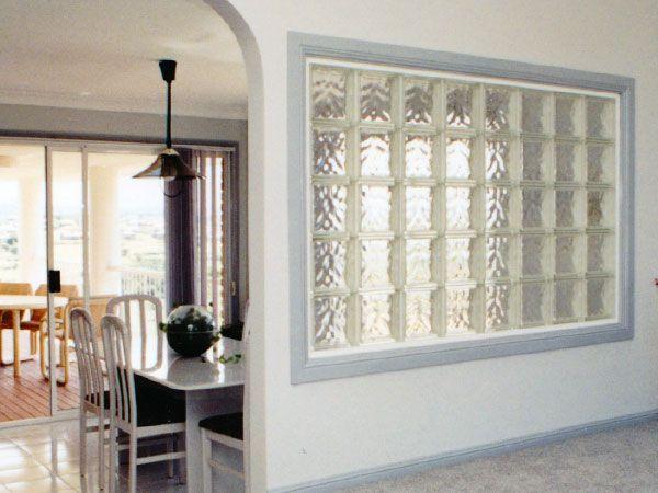 Superior Glass Block Interior Walls   Google Search