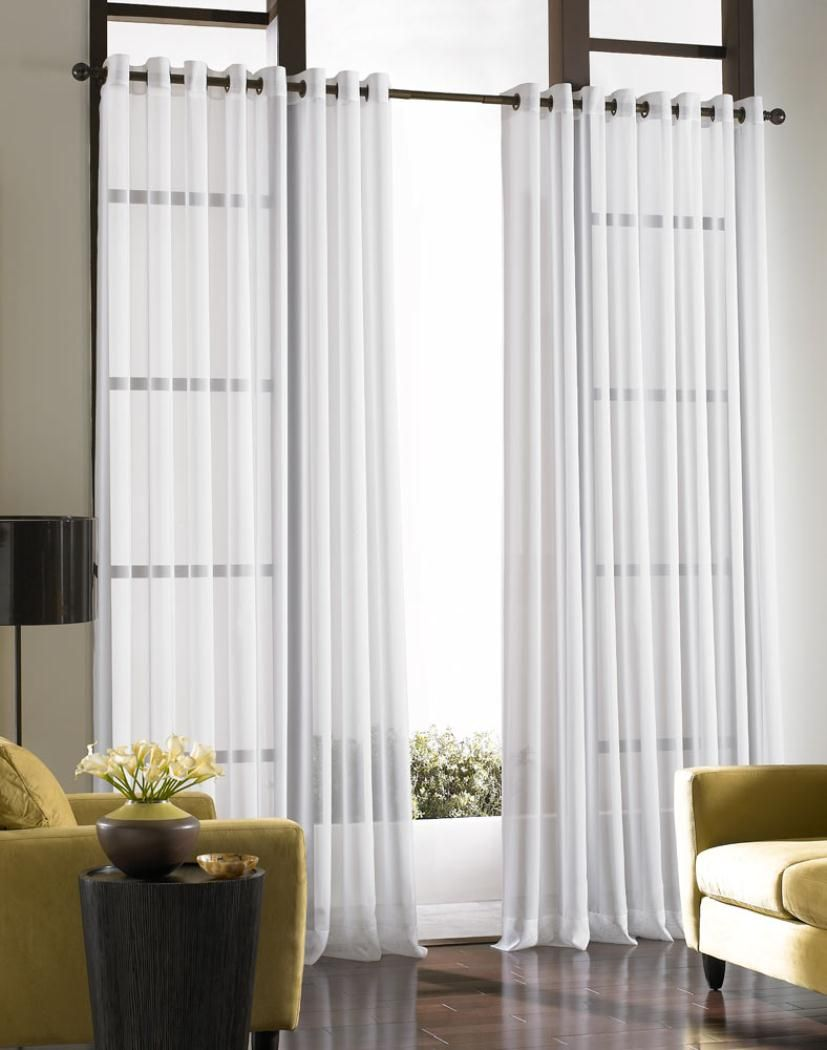 Curtains for a sliding glass door YES Houses Pinterest