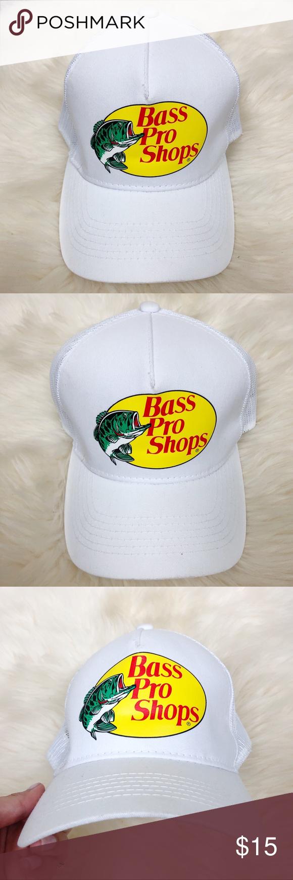 Vintage Bass Pro Shops Foam Mesh Black White Snapback Baseball Cap One Size Unbranded Baseballcap Cap Vintage Bass Bass Pro Shop Hat