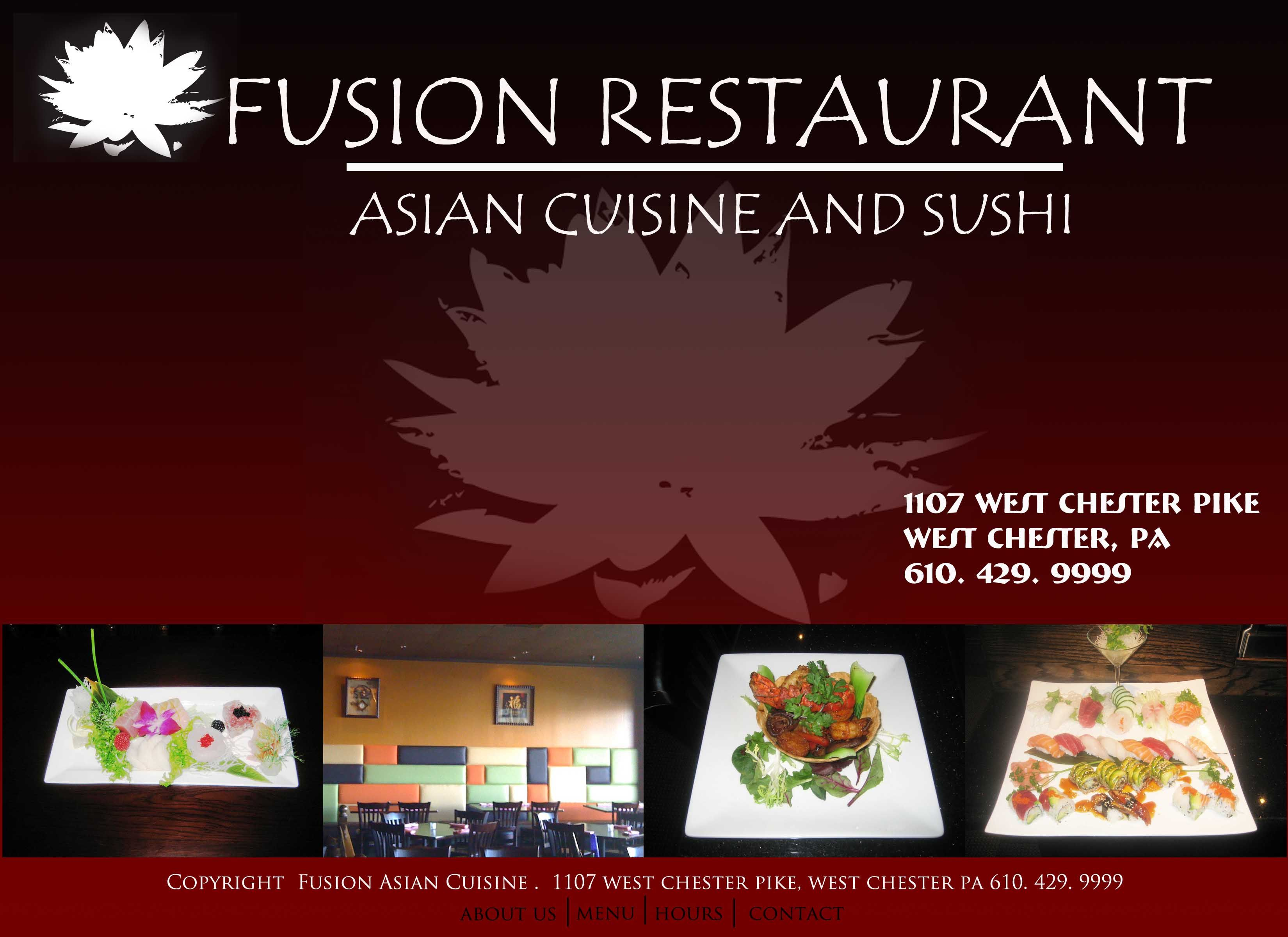 Fusion Sushi West Chester Fusion Restaurant West Chester Sushi