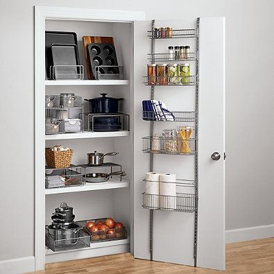ORG Premium Over-the-Door Steel Frame Pantry Organizer ...