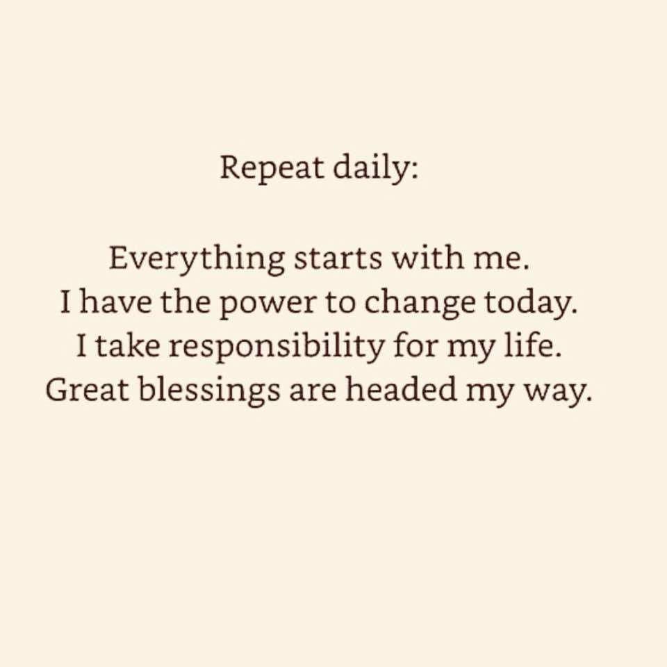 pierderea pozitivă mantra