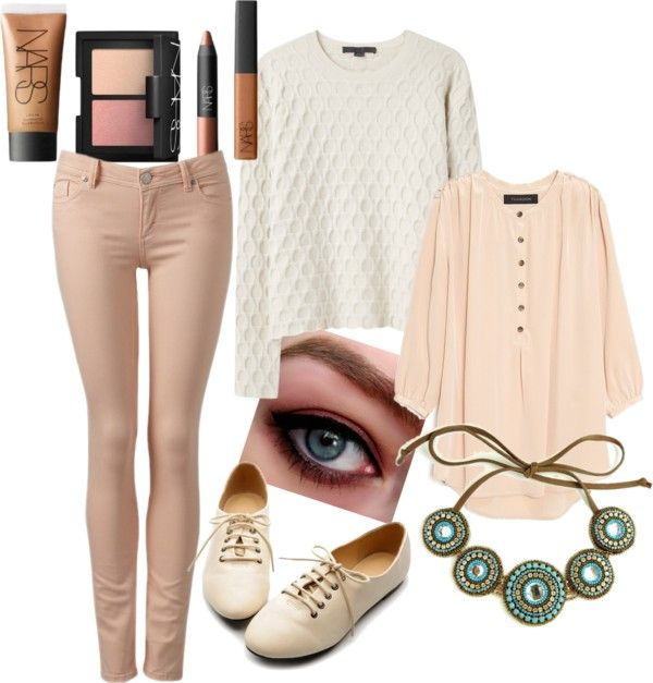 """Casual Chic Outfit"" by annie-blog ❤ liked on Polyvore"