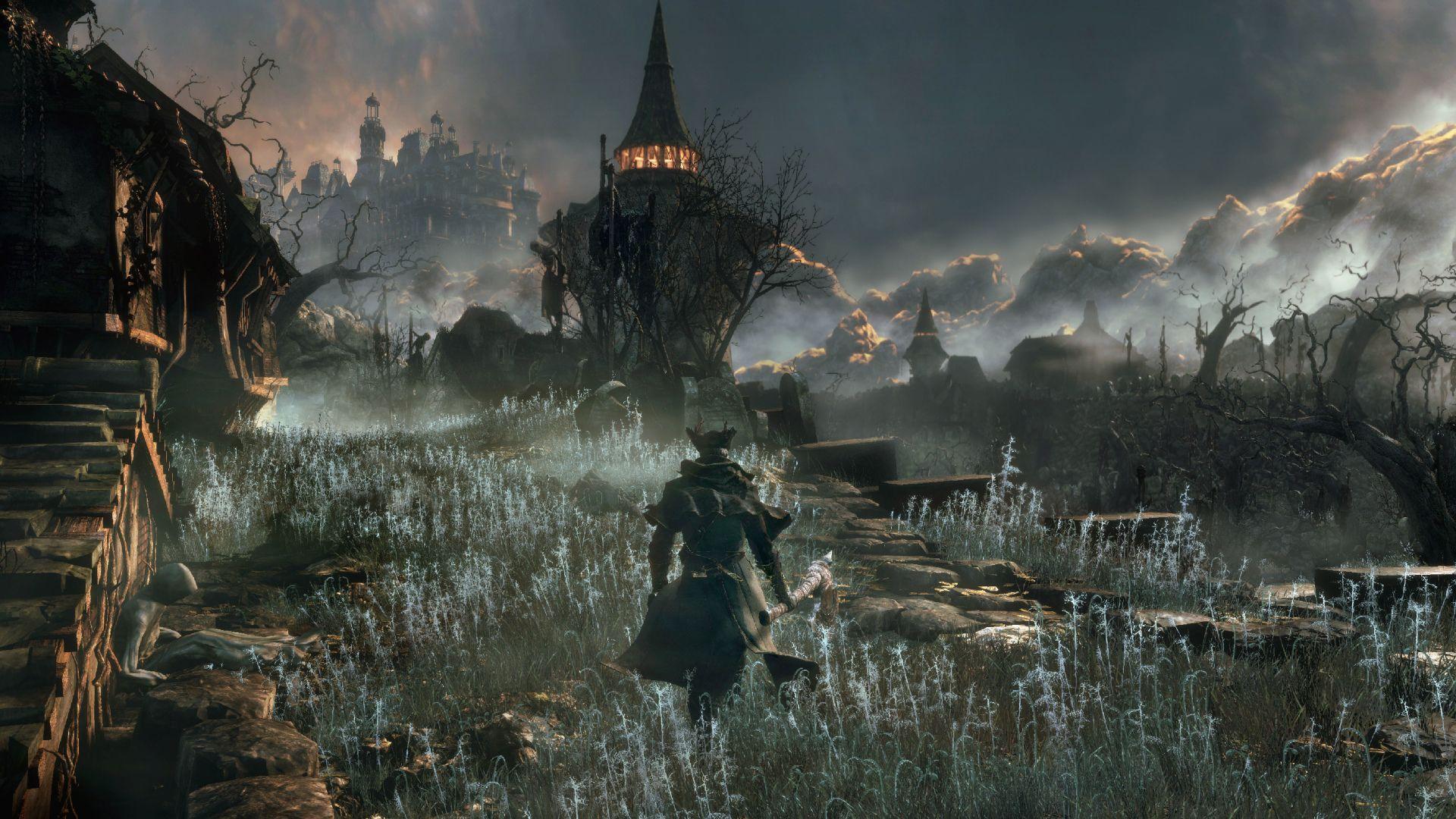 Jeux Video Bloodborne Fond D Ecran Dark Souls Bloodborne Fond Ecran