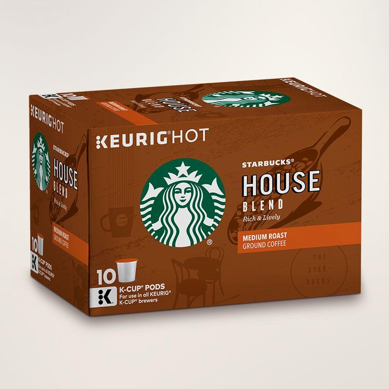 House blend medium roast coffee starbucks coffee at