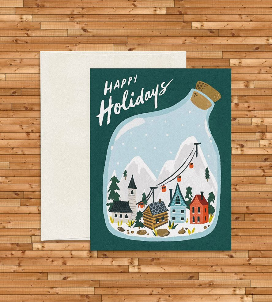 Village terrarium holiday cards set of 8 holidays cards and ephemera village terrarium holiday cards set of 8 kristyandbryce Images