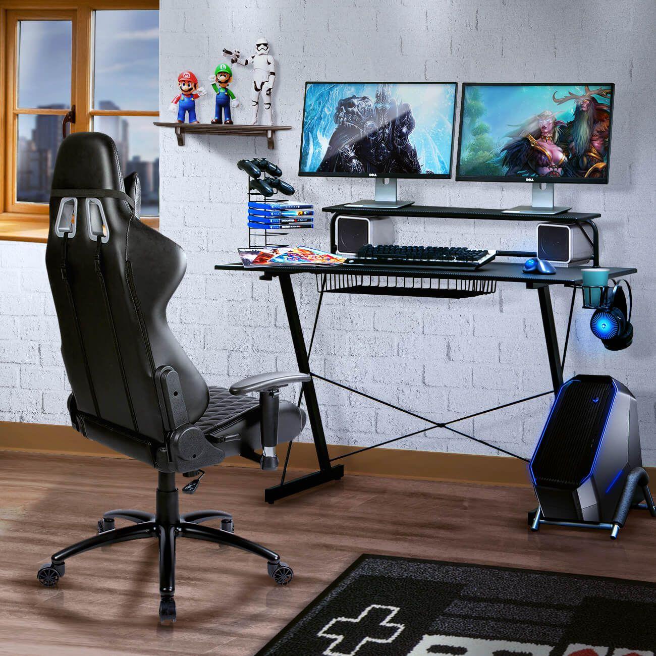 Techni sport affiliate program gaming desk black gaming