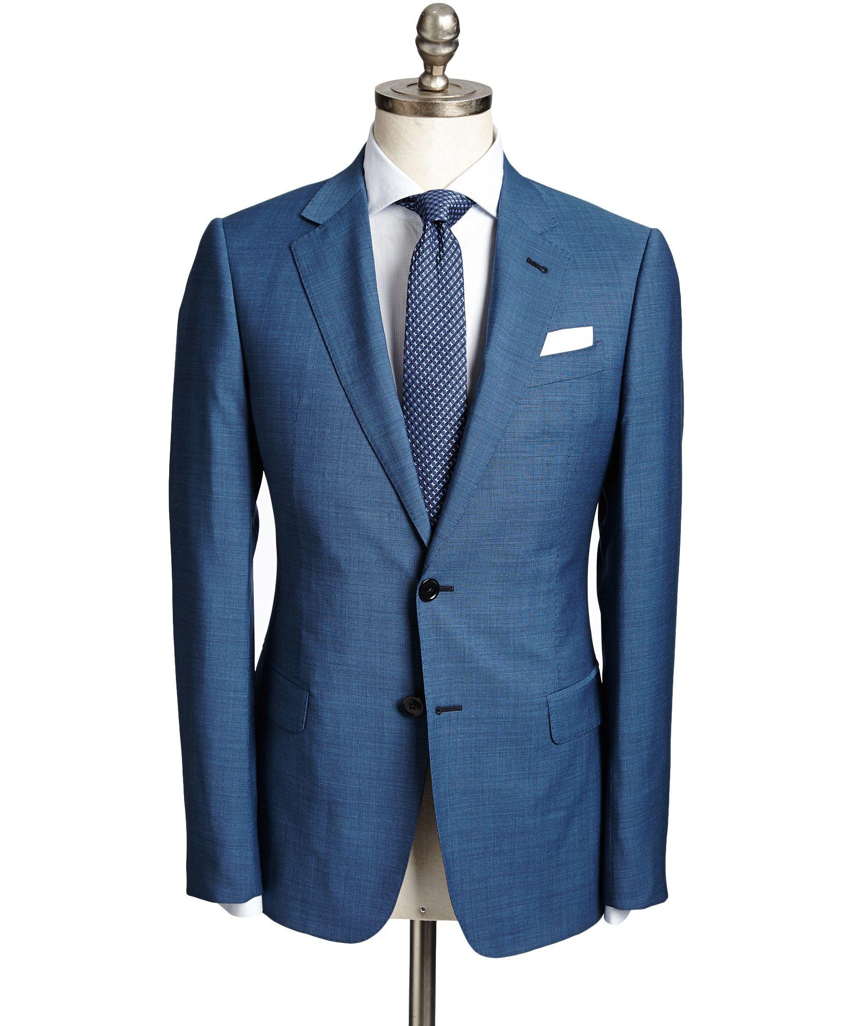 Armani Collezioni | S-Line Virgin Wool Suit | Suits | Harry Rosen ...